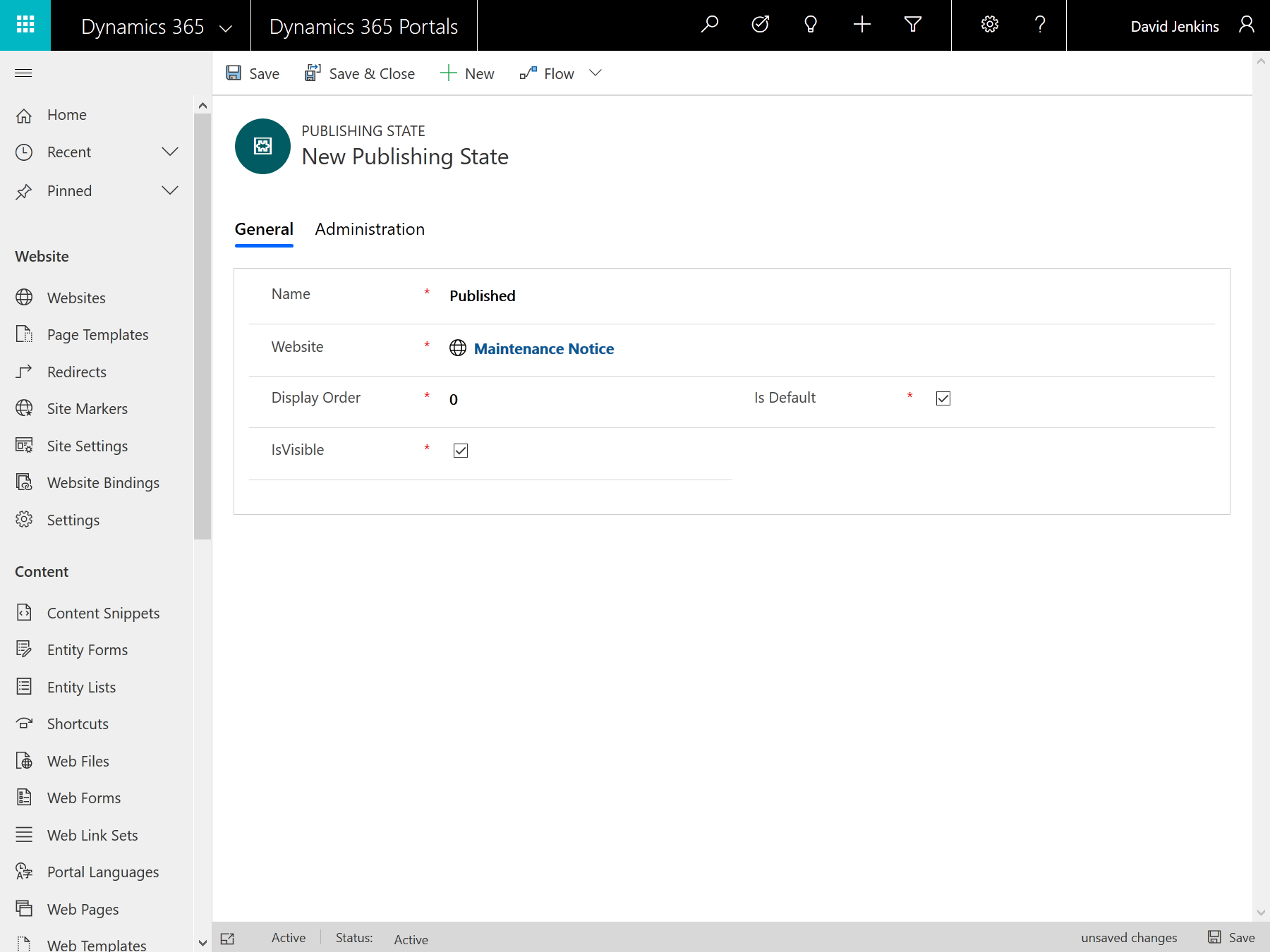 """Under Maintenance"""" pages for Dynamics 365 portals"""